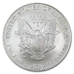 2008-W Burnished Silver American Eagle Coin MS-69 FS PCGS Rev of 2007 Coin