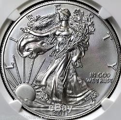 2011 25th Anniversary Silver American Eagle Set NGC Graded MS70 PF70 withBox & COA