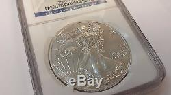 2011 S American Eagle S$1 NGC 25TH ANNIVERSARY SET EARLY RELEASES MS69 C380a