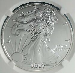 2011 S American Silver Eagle MS 70 E. R. 999 Silver 25th Anniv. Set Blue Label
