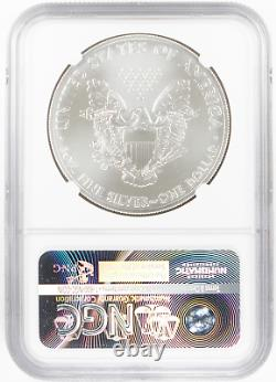 2011 Silver American Eagle 25th Anniversary 5 Coin Set NGC MS69, Proof PF69 $1