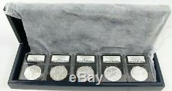 2011 Silver American Eagle 25th Anniversary 5 Set NGC MS70 PF70 Early Releases