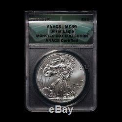 2015-P $1 American Silver Eagle ANACS MS69 Free Shipping USA