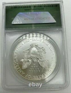 2015-(P) ANACS MS69 Philadelphia Mint AMERICAN SILVER EAGLE