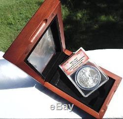 2015 (P) American Silver Eagle ANACS MS-70 Philadelphia Label SUPER RARE