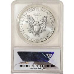 2015-(P) American Silver Eagle ANACS MS69 1 of 79,640 Struck