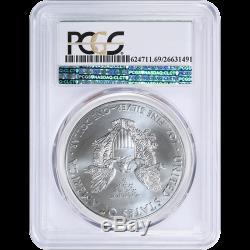 2015(P) American Silver Eagle ASE PCGS MS69, Philadelphia Struck