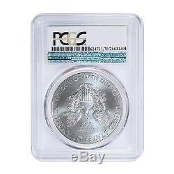 2015 (P) American Silver Eagle Coin PCGS MS-70 Philadelphia Label