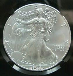 2015 (P) American Silver Eagle NGC MS 69 One of 79,640 Struck