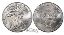 2015 (P) American Silver Eagle PCGS MS-69 THE RAREST MINT STATE EAGLE EVER