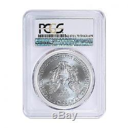 2015 (P) American Silver Eagle PCGS MS-70 Philadelphia Label RARE