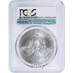 2015 P American silver Eagle PCGS MS70 Mintage Of Only 79,640