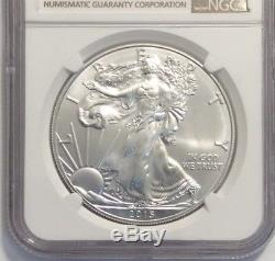 2015 (P) Silver American Eagle (NGC MS-69)