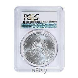 2015 (P) US Mint $1 American Silver Eagle Coin PCGS MS-70 Philadelphia Label