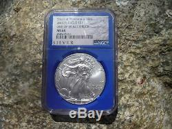 2015 (P) silver American eagle NGC MS 68 Minted in Philadelphia
