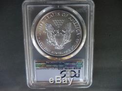 2015 (P) silver American eagle PCGS MS 69 Struck in Philadelphia