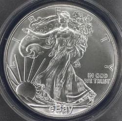 2015 (p) American Silver Eagle Anacs Ms70
