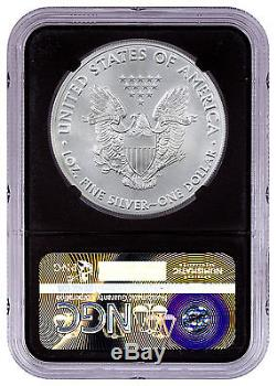 2016-(S) American Silver Eagle NGC MS70 Black Core Holder SKU46694