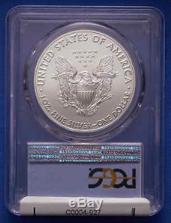 2017-P American Silver Eagle PCGS MS 70 Black Eagle 1 of 2,000