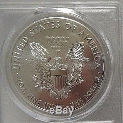 2017 (S) $1 American Silver Eagle Struck SF PCGS MS70 Thomas Cleveland Freedom