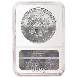 2020 (P) $1 American Silver Eagle NGC MS70 ER Emergency Production