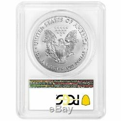 2020 (P) $1 American Silver Eagle PCGS MS70 Emergency Production Philadelphia