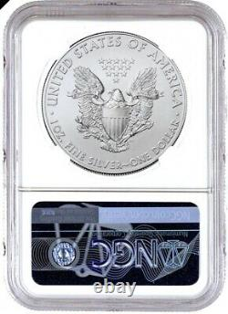 2020 (P) American Silver Eagle NGC MS70 Emergency Production FDOI Philadelphia 1
