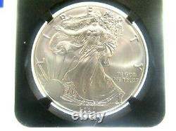 2020(P) American Silver Eagle ms70 FDOI 1ST MONSTER BOX JOHN MERCANTI FLAG LABEL