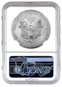 2020 W 1 oz Burnished American Silver Eagle $1 Coin NGC MS70 FDI PRESALE