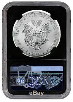 2020 W 1 oz Burnished American Silver Eagle $1 NGC MS70 FDI BC Eagle PRESALE
