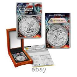 2021 ANACS MS 70 Type-2 American Silver Eagle Limited Edition of 13,976