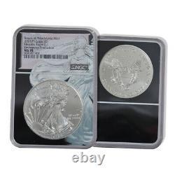 2021 (P) $1 American Silver Eagle NGC MS70 Emergency Production EAGLE CORE