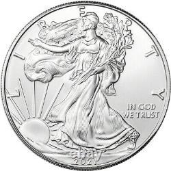 2021 (P) American Silver Eagle PCGS MS70 First Strike Flag Emergency Issue