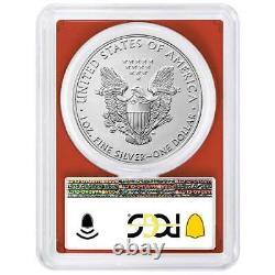 2021 (S) $1 American Silver Eagle 3pc. Set PCGS MS70 Emergency Issue FS San Fran