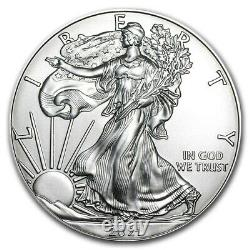 2021 (W) American Silver Eagle PCGS MS70 FDOI In West Point Holder USA Made Coin