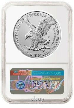2021 W Burnished American Silver Eagle Type 2 NGC MS69 FR PRESALE