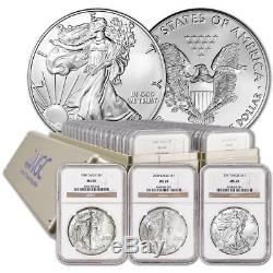 33-pc. 1986 2018 American Silver Eagle Complete Date Set NGC MS69