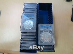 American Silver Eagle Complete set 1986 2016 Graded MS69 by PCGS