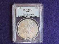 Complete Set of PCGS MS-69 American Silver Eagles 1986-2016 (31 Coins)