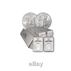 Just Reducd Complete set 1986-2016 American Silver Eagles NGC MS-69 (31 coins)