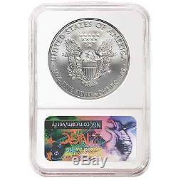 Lot of 10 2017 $1 American Silver Eagle NGC MS70 225th Anniversary FDI Label