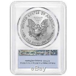 Lot of 10 2017 $1 American Silver Eagle PCGS MS70 First Strike Label with PCGS S