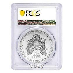 Lot of 2 2020 (P) 1 oz Silver American Eagle PCGS MS 69 FDOI Emergency Issue