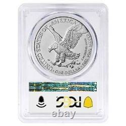 Lot of 2 2021 1 oz Silver American Eagle Type 2 PCGS MS 70 FS (35th Anniv)