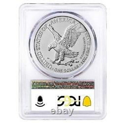 Lot of 2 2021 (W) 1 oz Silver American Eagle Type 2 PCGS MS 70 FDOI West Point