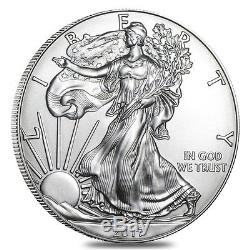 Lot of 5 2017 1 oz Silver American Eagle $1 Coin NGC MS 70 Early Releases Ret