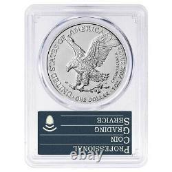 Lot of 5 2021 1 oz Silver American Eagle Type 2 PCGS MS 70 FS OGH (35th Anniv)