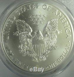 Pcgs Ms70/pr70 Set Of Four 2011 First Strike American Silver Eagle Dollars