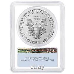 Presale 2021 $1 American Silver Eagle 3pc. Set PCGS MS70 FS Flag Label Red Whi