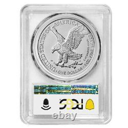 Presale 2021 $1 Type 2 American Silver Eagle PCGS MS70 First Day of Production